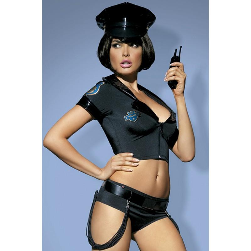 Игровой костюм Police set Obsessive для горячих игр