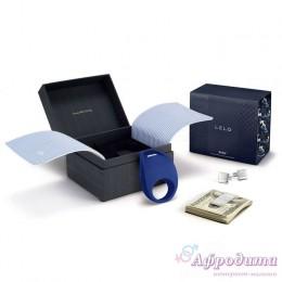 Подарочный набор для мужчин с эрекционным виброкольцом LELO Pino Federal Blue