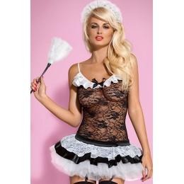 Сексуальный игровой костюм Housemaid Obsessive накроет Вас волной новых чувств и эмоций