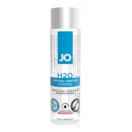 Возбуждающая смазка на водной основе JO H2O warming, 120 мл