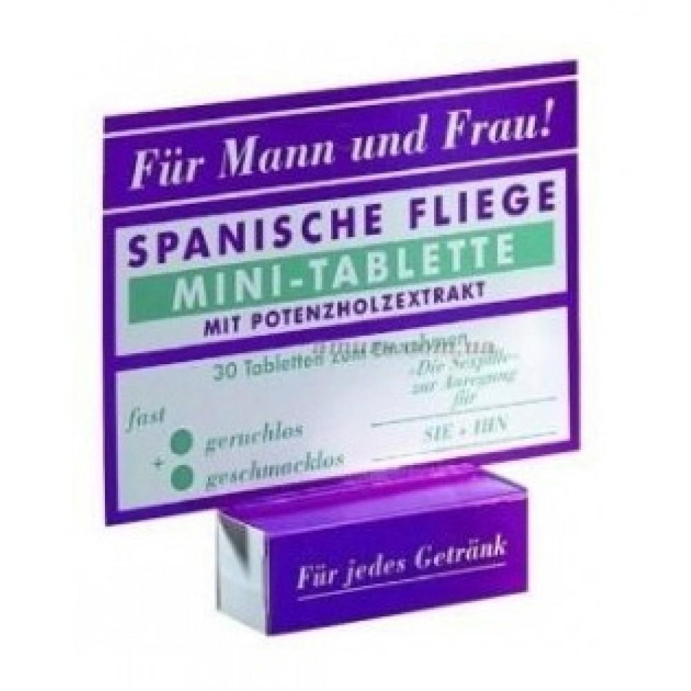 Обоюдные возбуждающие Мини-таблетки SPANISCHE FLIEGE фото 3