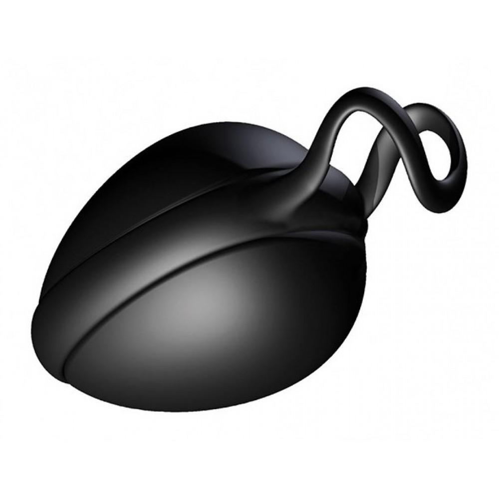 Вагинальный шарик Joyballs secret single black-black невероятно эффективный тренажер фото 1