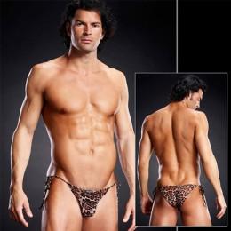 Леопардовые мужские side-tie бикини для смелых мужчин