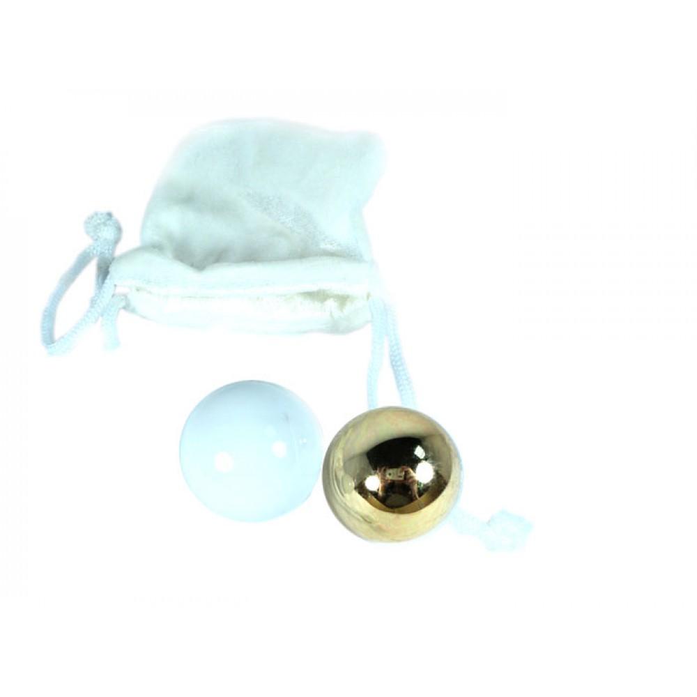 Вагинальные шарики Sensuous Balls идеально подойдут для профессионалов! фото 4