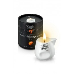 Массажная свеча Plaisirs Secrets Peach