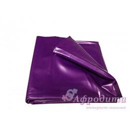 Простынь Lack Laken lila лилового цвета для пары