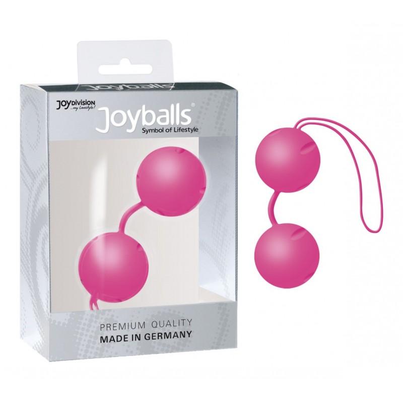 Вагинальные шарики Joyballs pink для неземных оргазмов