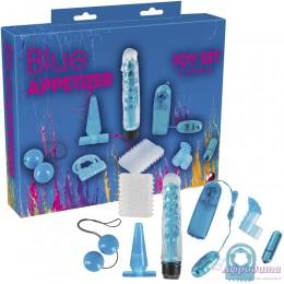 Набор секс-игрушек для пар Blue Appetizer