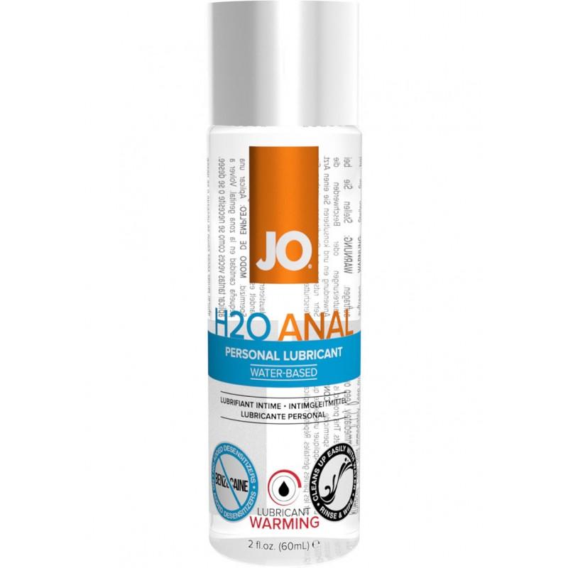 Анальный лубрикант System JO ANAL H2O - WARMING (60 мл)