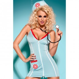 П. Игровой костюм Doctor dress Obsessive для страстной и заботливой