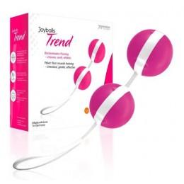 Вагинальные шарики Joyballs pink-white яркие и стильные
