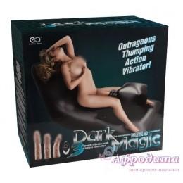 Секс мебель надувная кровать с встроенной секс машиной Dark Magic Thrusting Bed